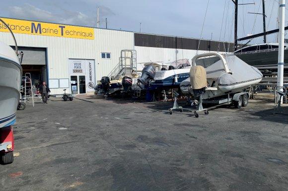 Stockage de bateau